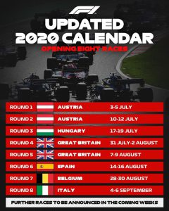 F1 Grand Prix Oostenrijk 2020