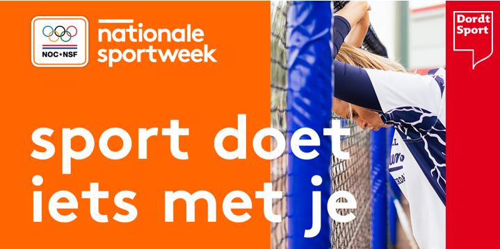 Nationale sportweek acties